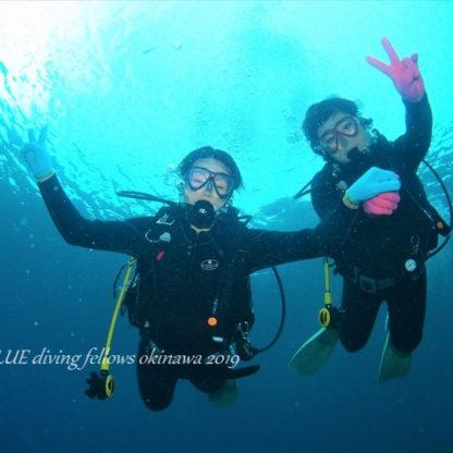 早朝青の洞窟体験ダイビング