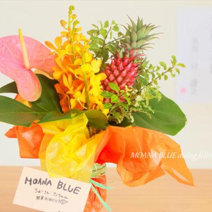 開店お祝いのお花