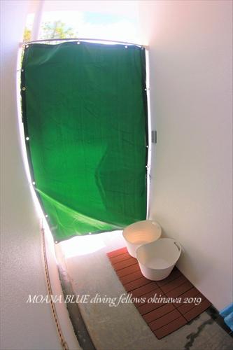 DIYシャワー室