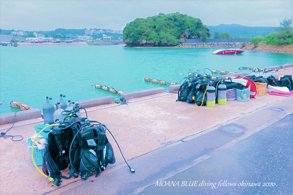 沖縄恩納村|ボート体験ダイビング