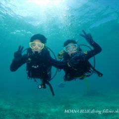 「ボートで遊ぶ」体験ダイビング|感動体験