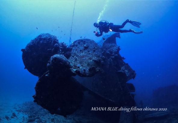 駆逐艦USSエモンズ|古宇利島・沈船ダイビング
