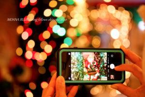 クリスマス キラメル撮影