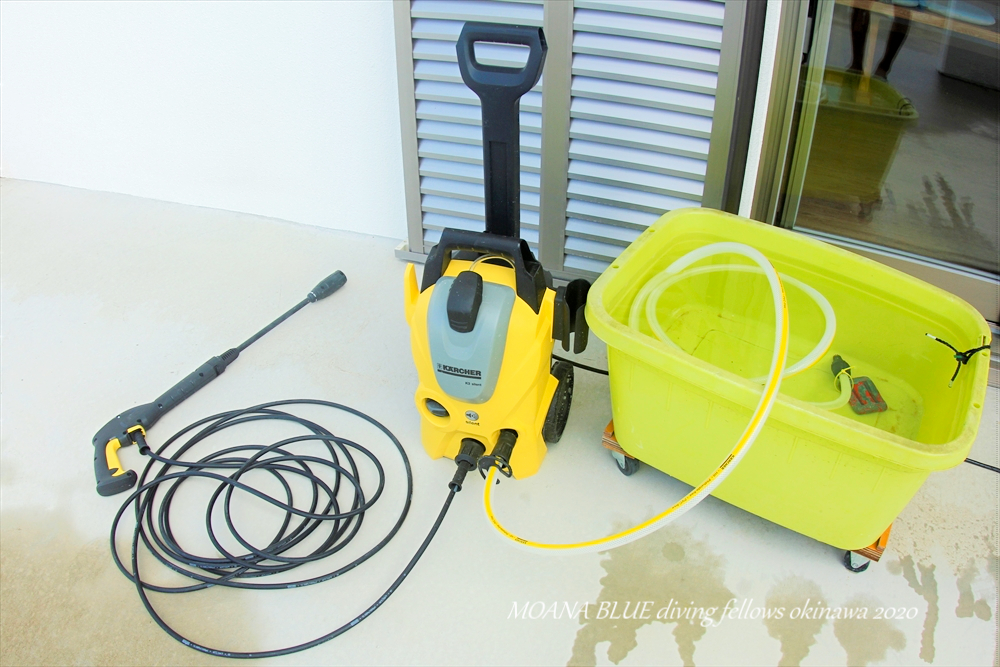 高圧洗浄機ケルヒャーK3