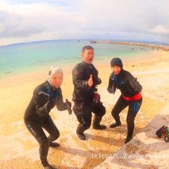 沖縄ビーチファンダイビング
