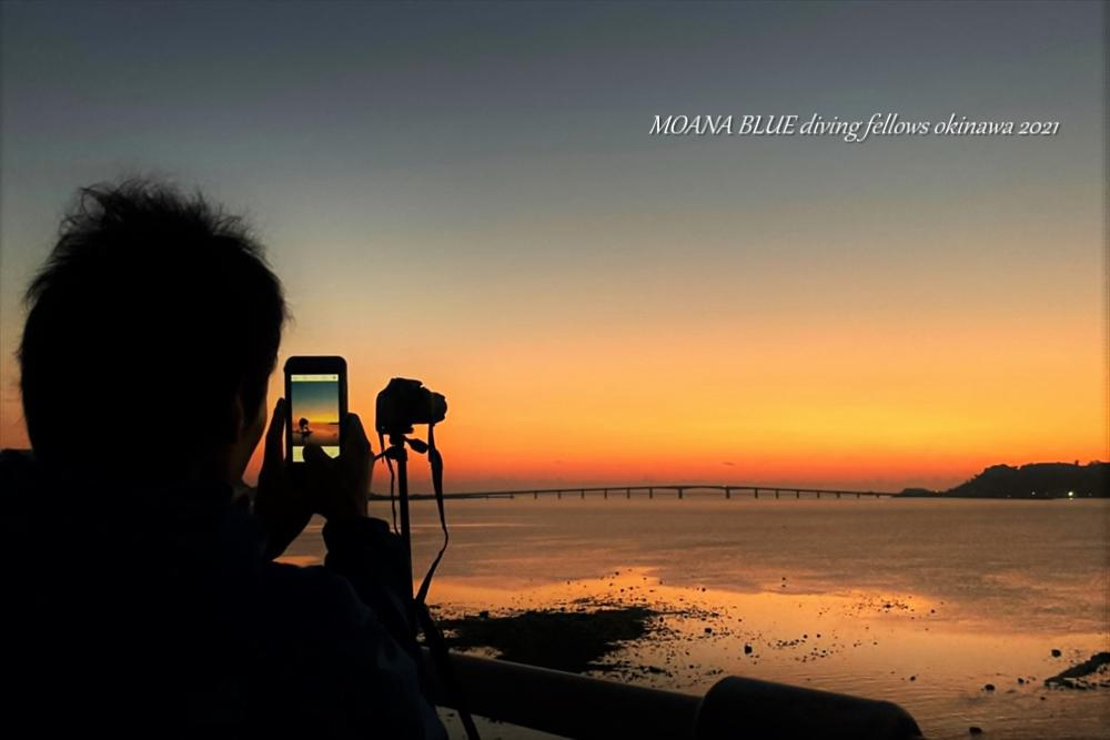 浜比嘉島日の出|沖縄風景写真