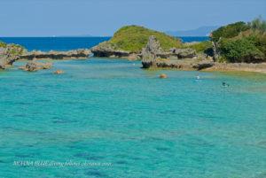 沖縄風景写真|恩納村ザネー浜
