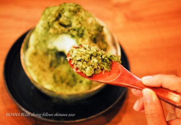 抹茶ぜんざい|沖縄の和菓子|羊羊