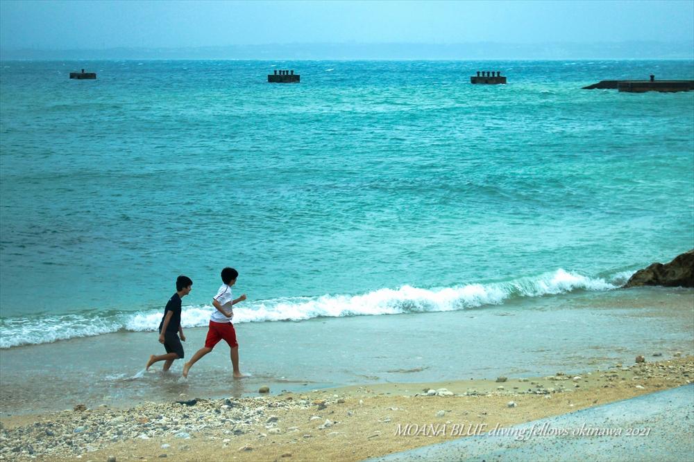 レッドビーチ|台風2号最接近