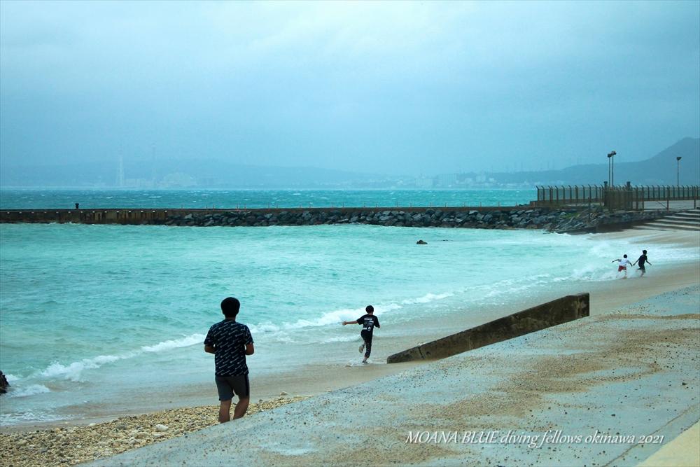 レッドビーチ|台風2号最接