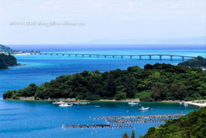 沖縄絶景スポット 古宇利島大橋