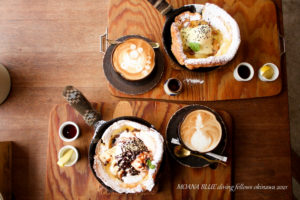 沖縄スイーツカフェ 北中城村マザーコーヒー
