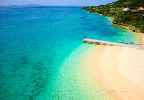 沖縄絶景スポット|アンチ浜(瀬底島)ビーチ