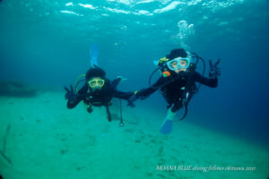 沖縄ボート体験ダイビング 恩納村ダイビングショップモアナブルー