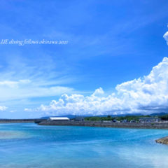 沖縄風景写真|恩納村万座ビーチ