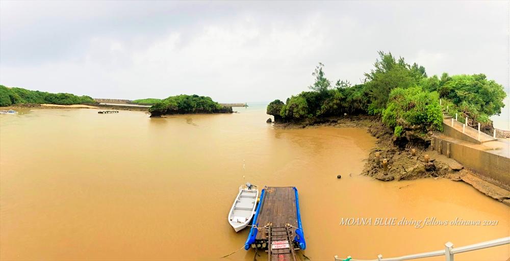 沖縄本島恩納村大雨洪水警報