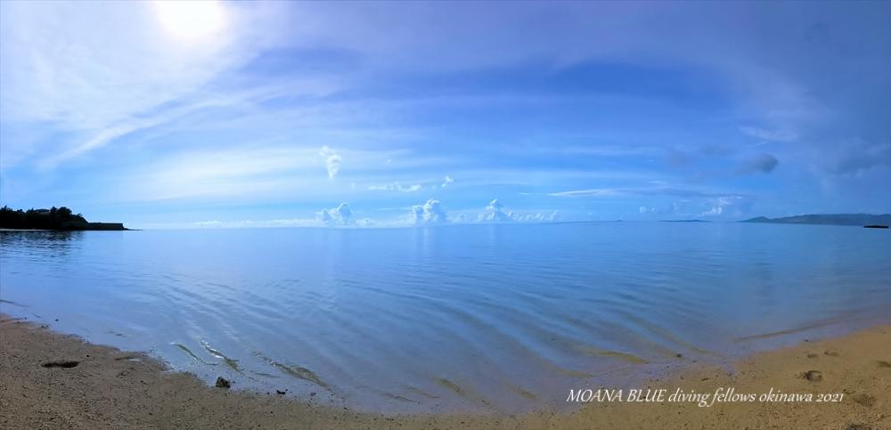 沖縄風景写真 恩納村安富祖ビーチ