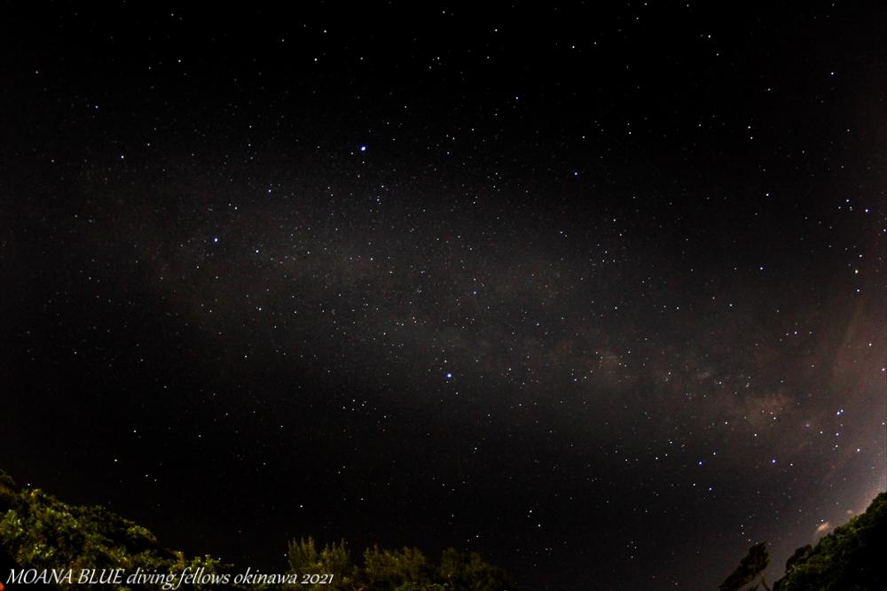 天の川|恩納村星空撮影