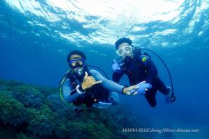 ビーチ体験ダイビング 沖縄ダイビングショップ