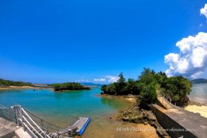 沖縄風景写真 恩納村ダイヤモンドビーチ