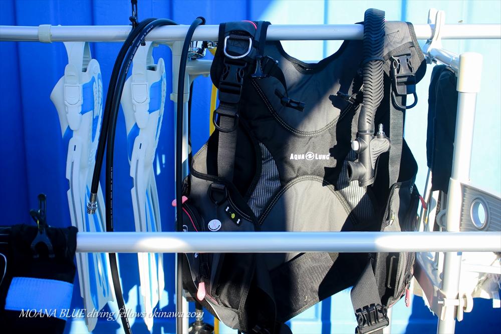 ダイビング器材保管サービス 沖縄ダイビングショップ