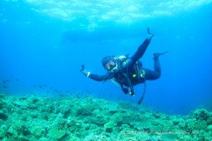 PADIアドヴァンスド・オープン・ウォーター・ダイバー講習 沖縄ダイビングショップ
