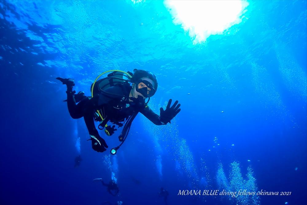 沖縄本島最強ポイント!トライアングル 沖縄ボートダイビング