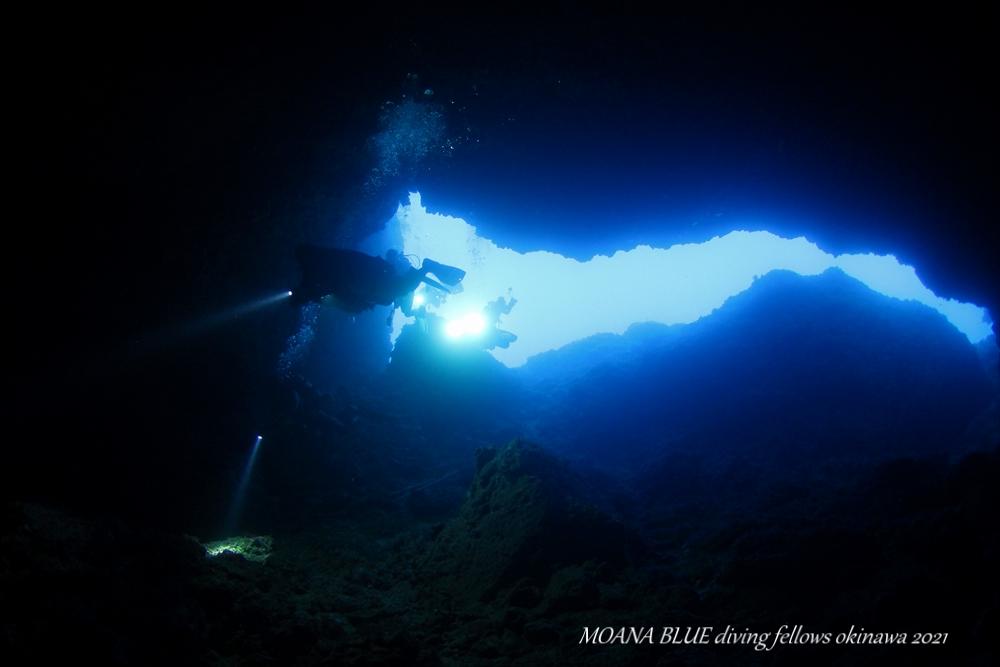 辺戸岬ダイビング|ケーブダイビング